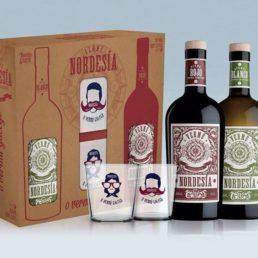 Обновления Nordesía с двух стаканов эксклюзивных подарка