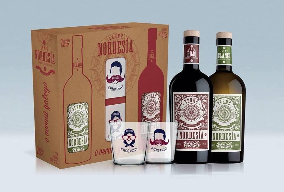 Pack Nordesía mit zwei gläser exklusive geschenk